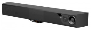 The Atlantic Technology HPas sound bar has an integrated subwoofer